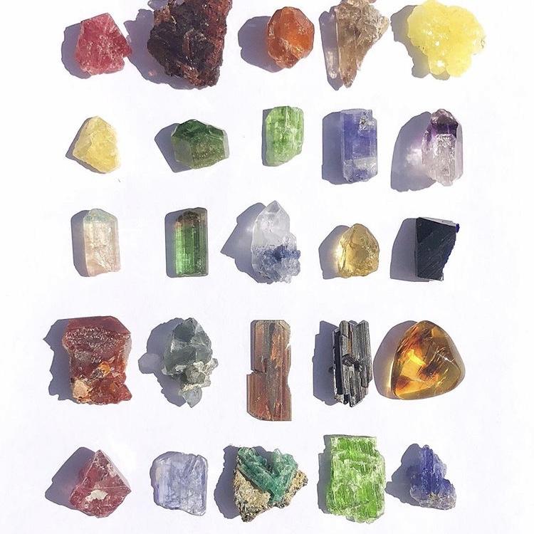 kristaller betydelse